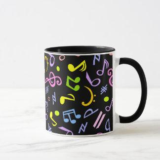鮮やかなノート マグカップ