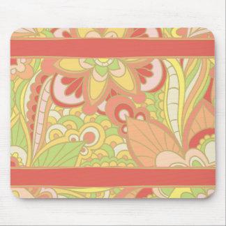 鮮やかなパステルBohoのレトロ、ジプシーのスタイル マウスパッド