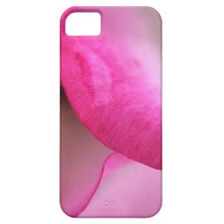 鮮やかなピンクのバラの花びらの電話箱カバー iPhone SE/5/5s ケース