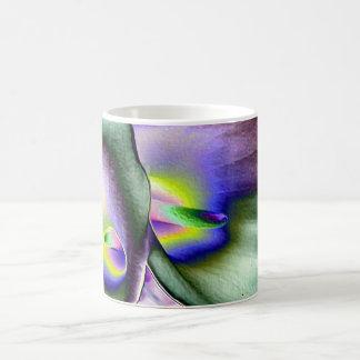 鮮やかなユリのマグ コーヒーマグカップ