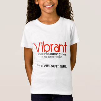 鮮やかな小さな女の子のワイシャツ Tシャツ