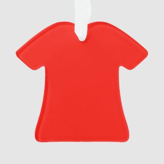 鮮やかな深紅色 オーナメント