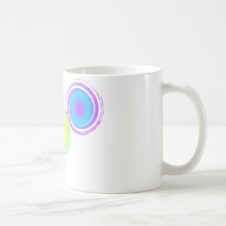 鮮やかな渦I コーヒーマグカップ