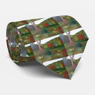 鮮やかな秋のタイ ネクタイ