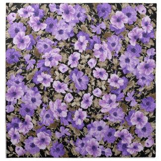 鮮やかな紫色 ナプキンクロス