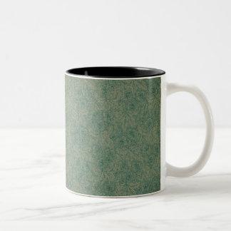鮮やかな緑 ツートーンマグカップ