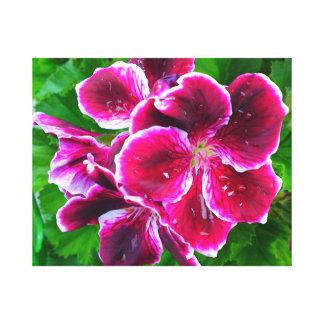 鮮やかな花 キャンバスプリント