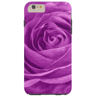 鮮やかな蘭の花の写真はばら色着色しました TOUGH iPhone 6 PLUS ケース