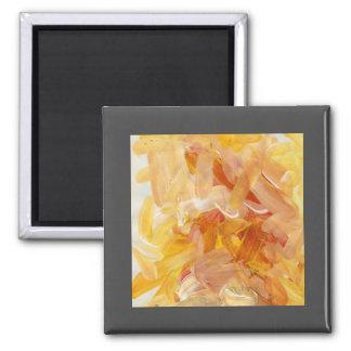 鮮やかな表現のアクリルの抽象芸術の磁石 マグネット