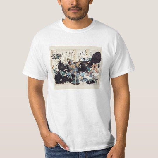 鯰絵(なまずえ) Tシャツ