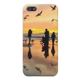鳥および人々 iPhone SE/5/5sケース