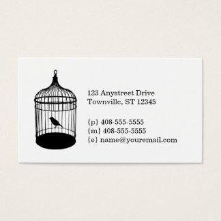 鳥かごの名刺 名刺