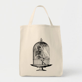 鳥かごの骨組 トートバッグ