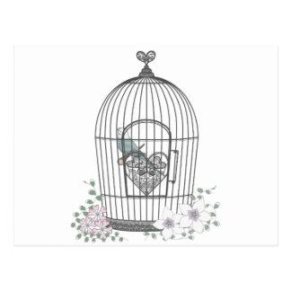 鳥かご ポストカード