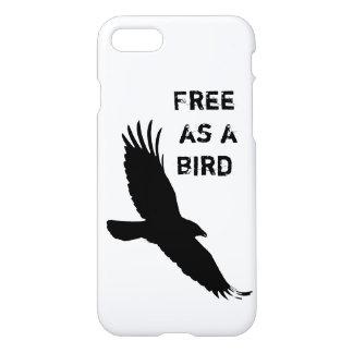 """鳥として""""自由なiPhone7場合""""。 iPhone 8/7 ケース"""
