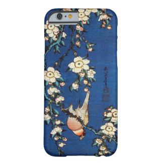 鳥と枝垂桜、北斎の鳥および泣く桜、Hokusai Barely There iPhone 6 ケース