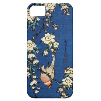 鳥と枝垂桜、北斎の鳥および泣く桜、Hokusai iPhone SE/5/5s ケース