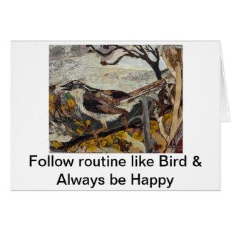 鳥のすずめ カード