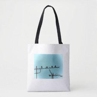 鳥のイスタンブールの写真のバッグ トートバッグ