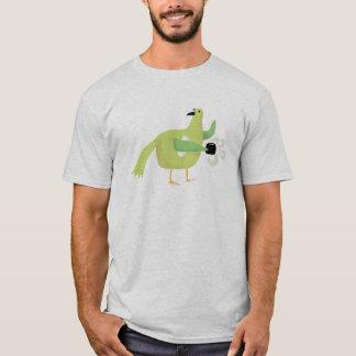 鳥のコーヒー Tシャツ