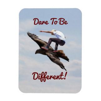 鳥のサーフィン マグネット