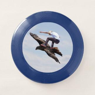 鳥のサーフィン Wham-Oフリスビー