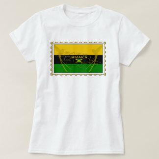 鳥のスタンプのTシャツをぶんぶんいうジャマイカ色 Tシャツ