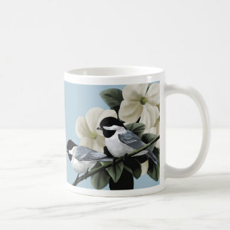 鳥のマグ コーヒーマグカップ