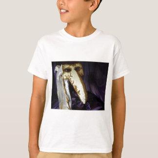 鳥の仮面劇 Tシャツ