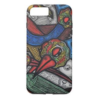鳥の会議 iPhone 8 PLUS/7 PLUSケース