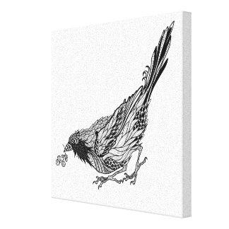 鳥の入れ墨6 キャンバスプリント