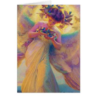 鳥の天使 カード
