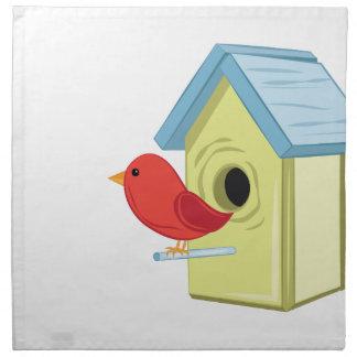 鳥の家 ナプキンクロス