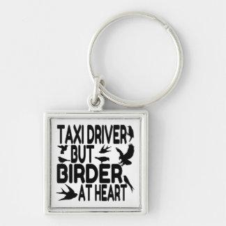 鳥の恋人のタクシー運転手 キーホルダー