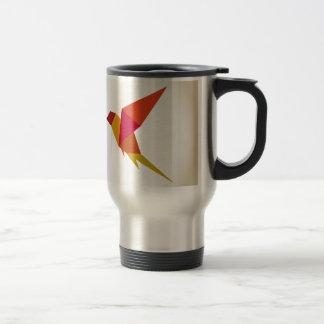 鳥の抽象的概念 トラベルマグ