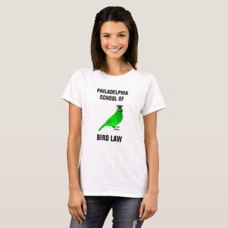 鳥の法律のフィラデルヒィアの学校 Tシャツ