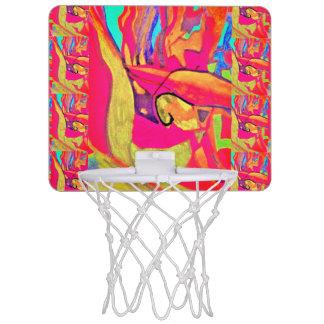 鳥の演劇 ミニバスケットボールゴール