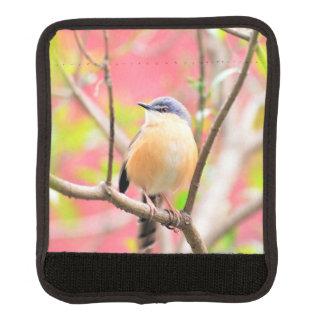 鳥の美しくカラフルな自然の景色 ラゲッジ ハンドルラップ