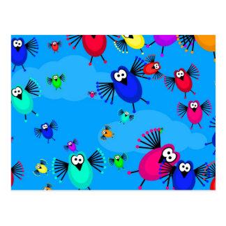 鳥の群 ポストカード