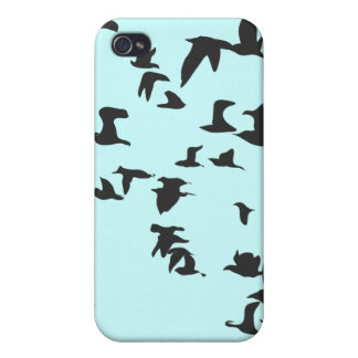 鳥の群 iPhone 4 カバー