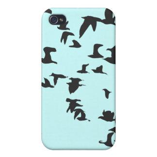 鳥の群 iPhone 4/4Sケース