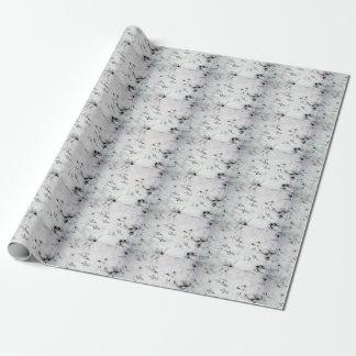 鳥の足のプリントの包装紙 ラッピングペーパー