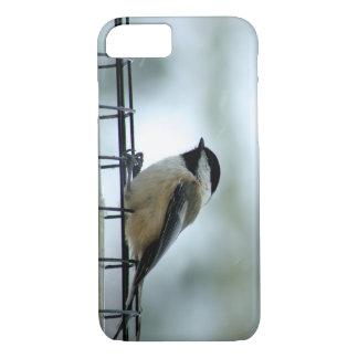 鳥の送り装置でとまるかわいい《鳥》アメリカゴガラ iPhone 8/7ケース