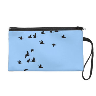 鳥の野性生物の野生の鳥のリストレットのバッグ リストレット