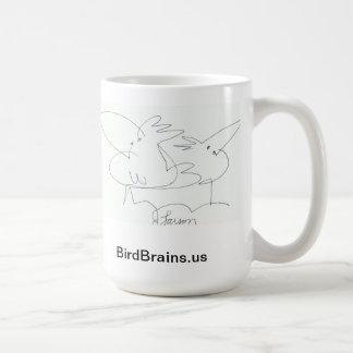 鳥の頭脳喜劇的なシリーズマグ コーヒーマグカップ