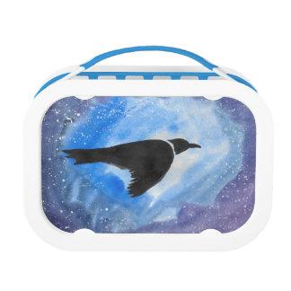 鳥の飛行中にお弁当箱 ランチボックス