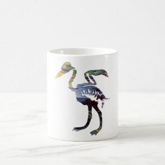 鳥の骨組 コーヒーマグカップ