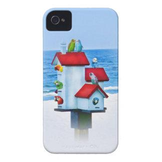 鳥のiphone 4ケースの仲間の例の十分の鳥の家 Case-Mate iPhone 4 ケース