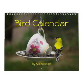 鳥は大きい数とカレンダーに記録します カレンダー