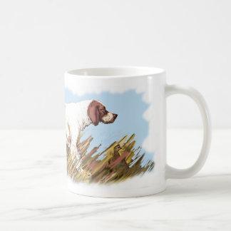鳥を持つ英国セッター コーヒーマグカップ